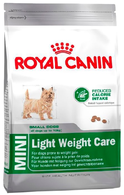 Royal Canin Mini Light Weight Care в зоомагазине Petchoice