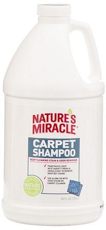 8in1 680222 8in1 Nature's Miracle Carpet Shampoo Моющее средство для ковров и мягкой мебели, 1,89 л