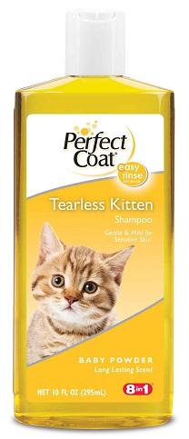 8in1 680304/2691 8in1 Tearless Kitten Shampoo Шампунь без слез для котят, 295 мл
