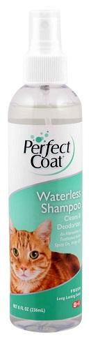 8in1 680213 /2588 USA 8in1 Cat Shampoo Спрей-шампунь для котов не требующий смывания, 237 мл