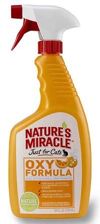 8in1 80192/5161 8in1 Уничтожитель пятен и запахов «Оранж-Окси» для кошек, 709 мл